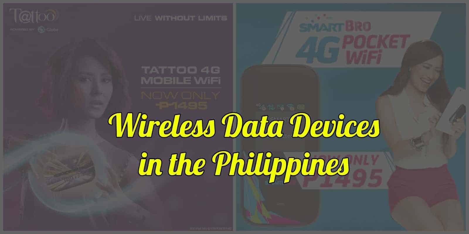 wireless data devices philippines