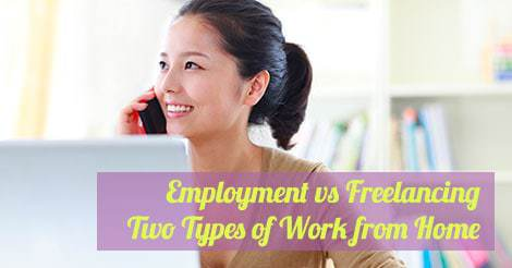 employment freelancing work from home