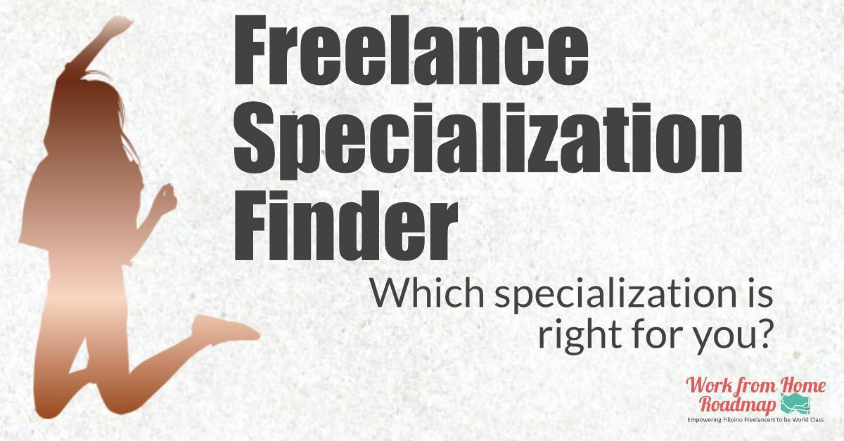 What niche should you choose? Freelance Specialization Finder!