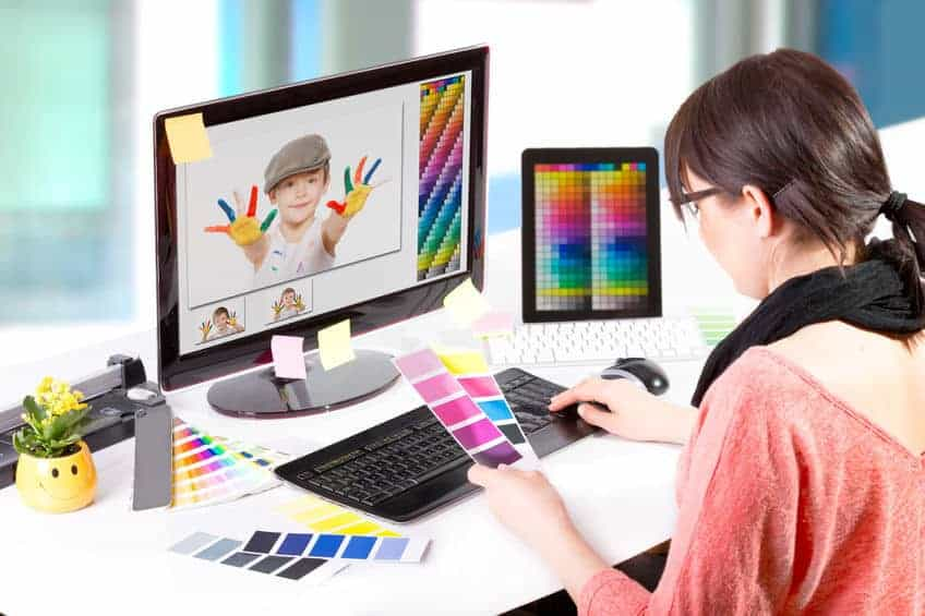 Graphics and Video editing is one of the best jobs for stay at home moms