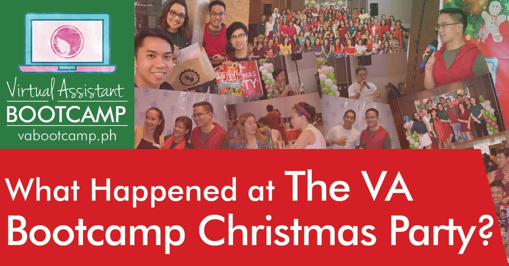 What Happened at The VA Bootcamp Christmas Party 2018?