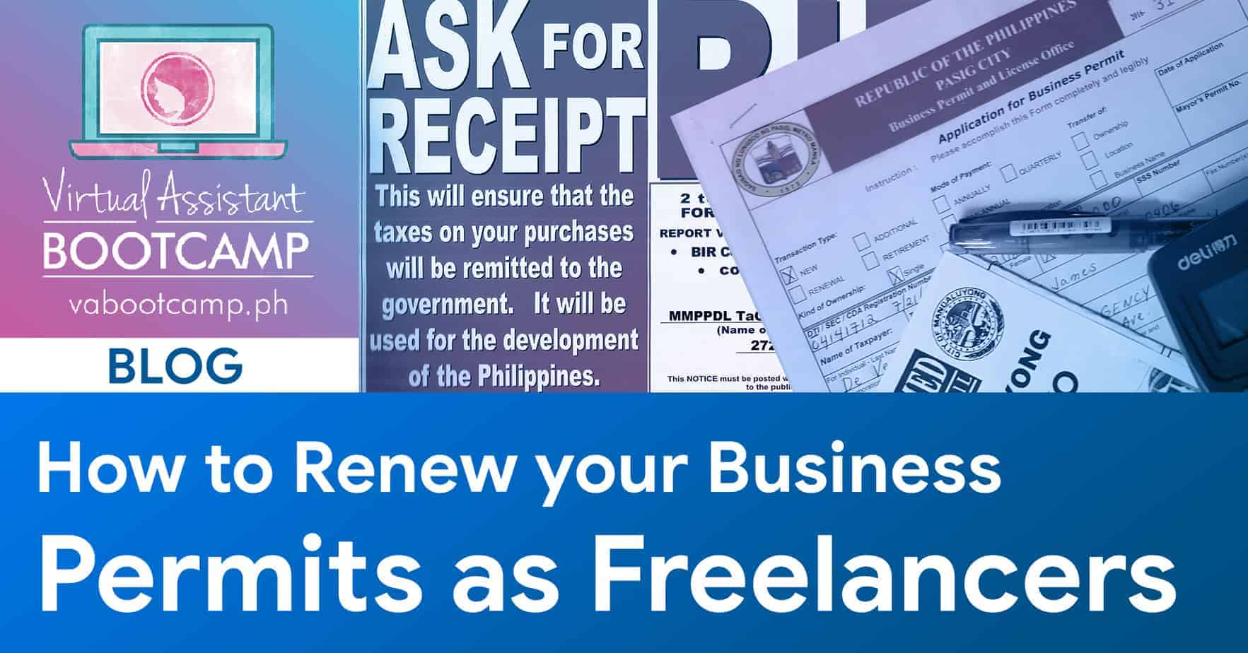 How to Renew your Business Permits as Freelancers