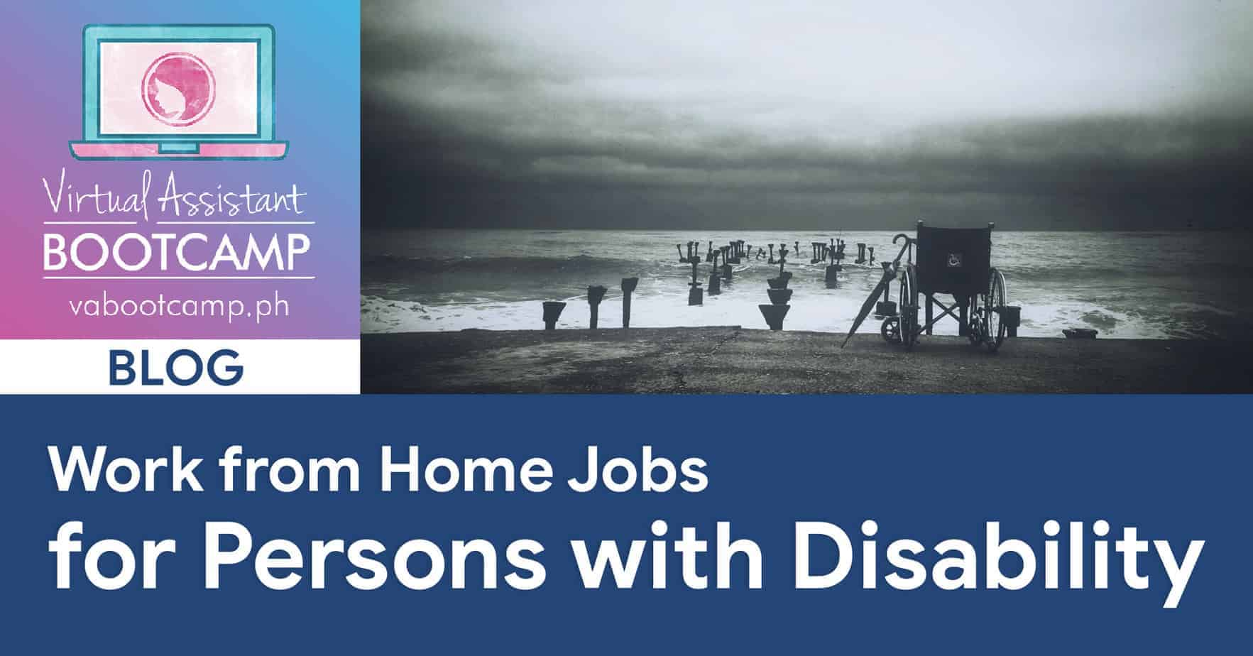 Work From Home Jobs For Persons With Disability